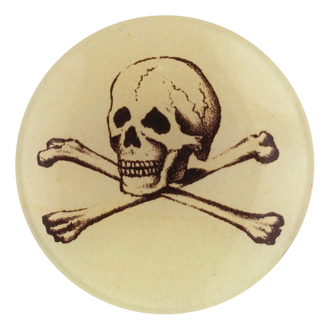 "Skully 4"" Round Plate"