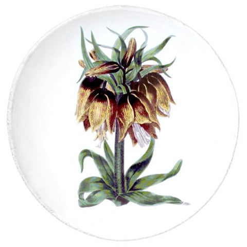 John Derian Yellow Flower Dinner Plate