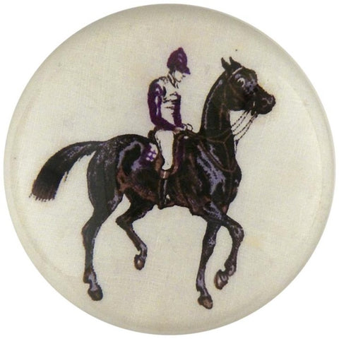 Jockey Dome Paperweight