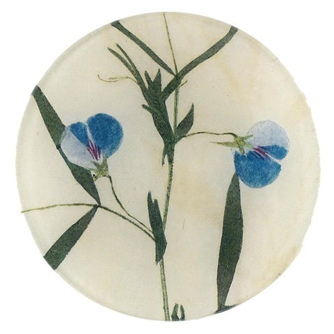 "Sweet Pea 5 3/4"" Round Plate"