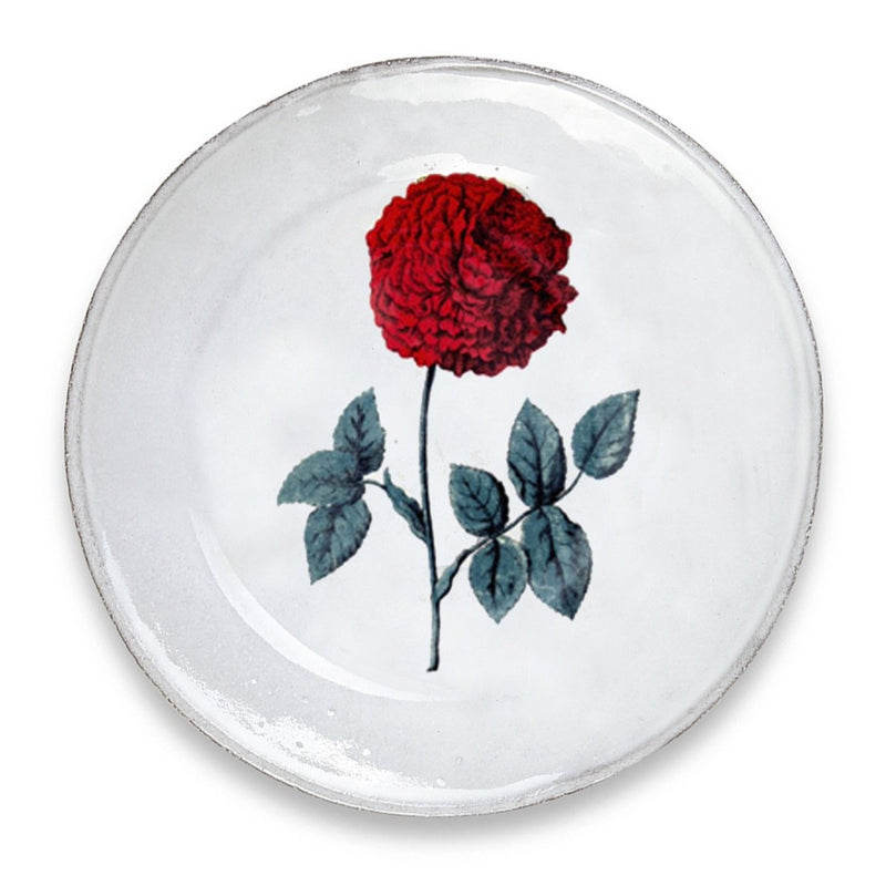 Hundred Leaved Rose Soup Plate