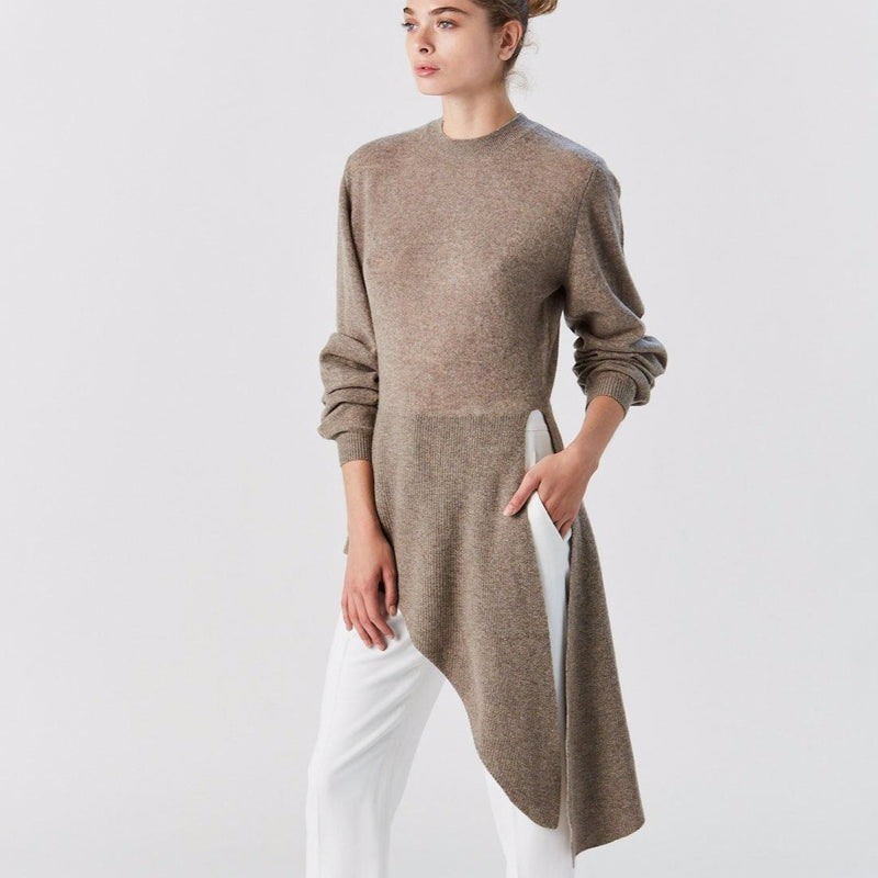 Esme Sweater, Featherweight Cashmere (Barley)