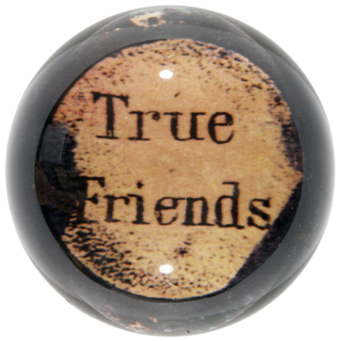 True Friends - Dome Paperweight