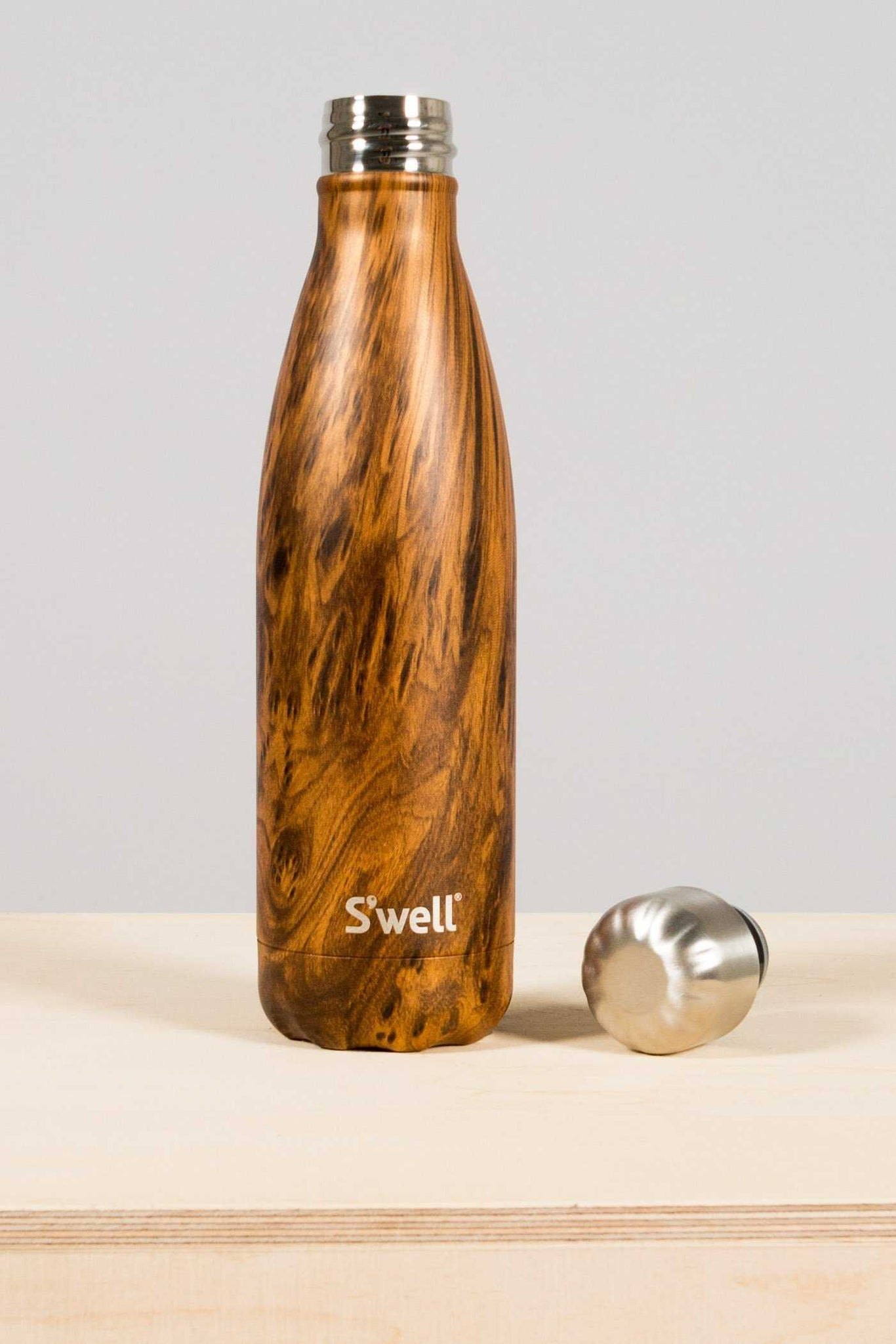S'well juomapullo - Teakwood