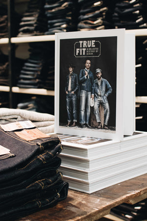 "True Fit - A Collected History of Denim - kirja | INCH"" verkkokauppa"