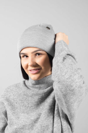"Costo Wau beanie - light grey | INCH"" verkkokauppa"