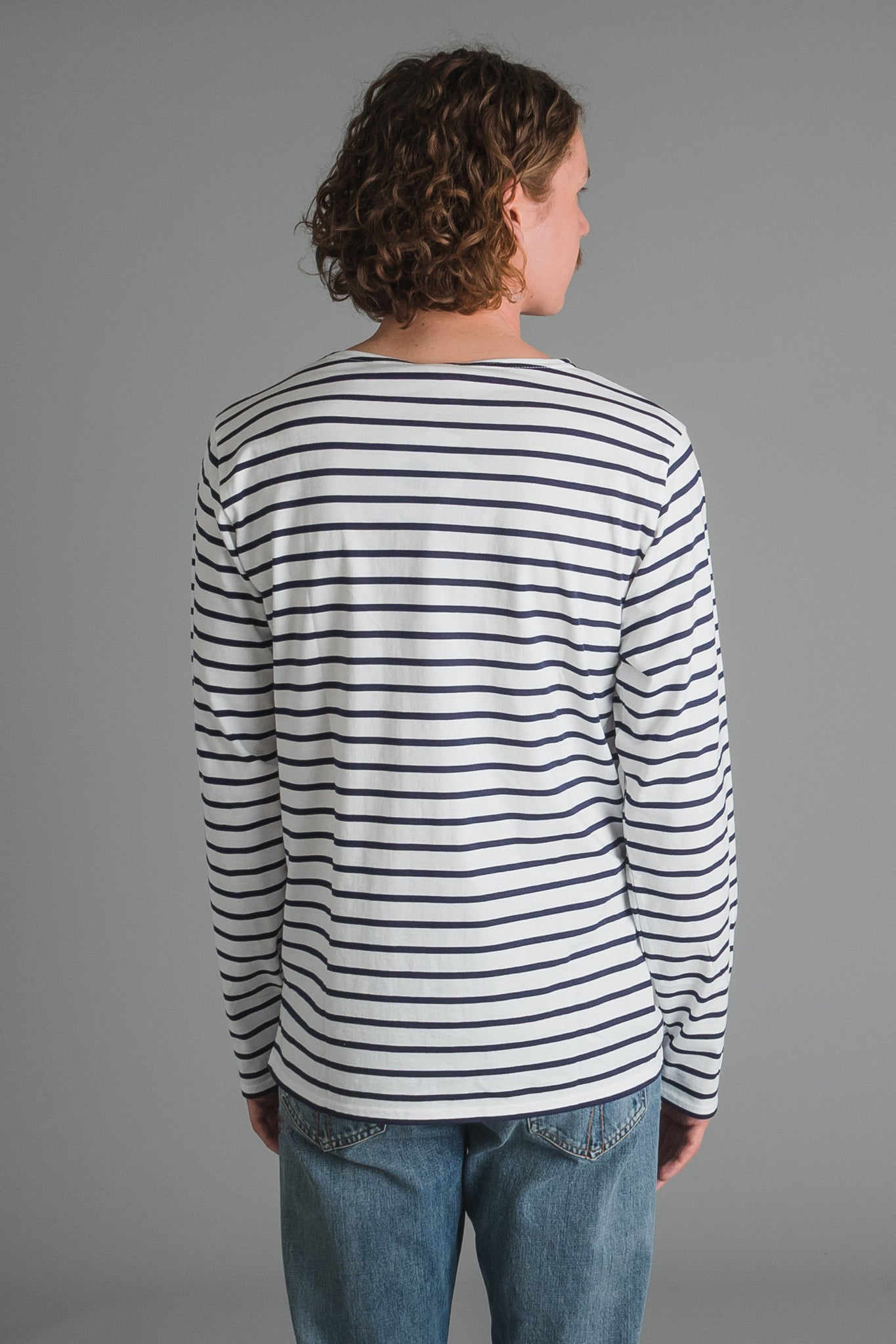 Armor Lux Sailor Shirt - blue striped I INCH""