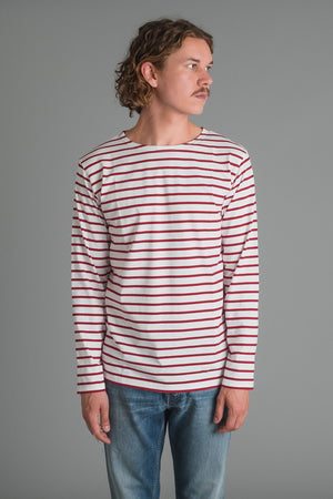 Armor Lux Sailor Shirt - red striped I INCH""