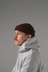 Colorful Standard beanie coffee brown