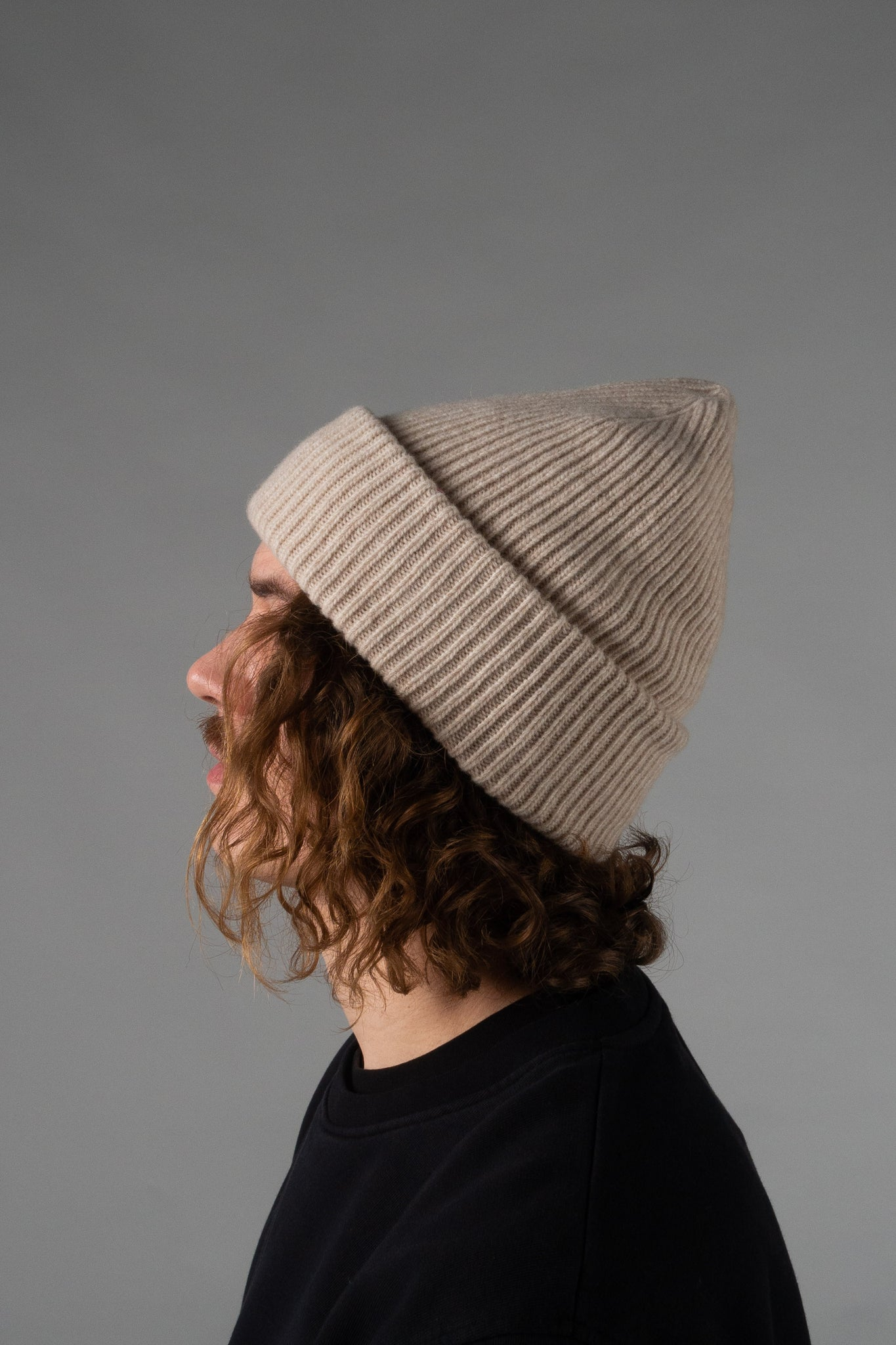 Colorful Standard merino wool hat - ivory white