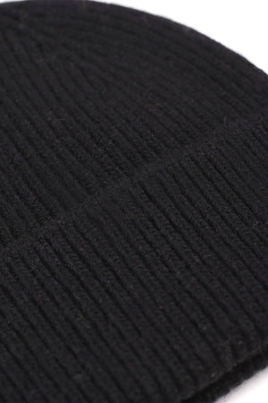 Colorful Standard merino wool Beanie - deep black