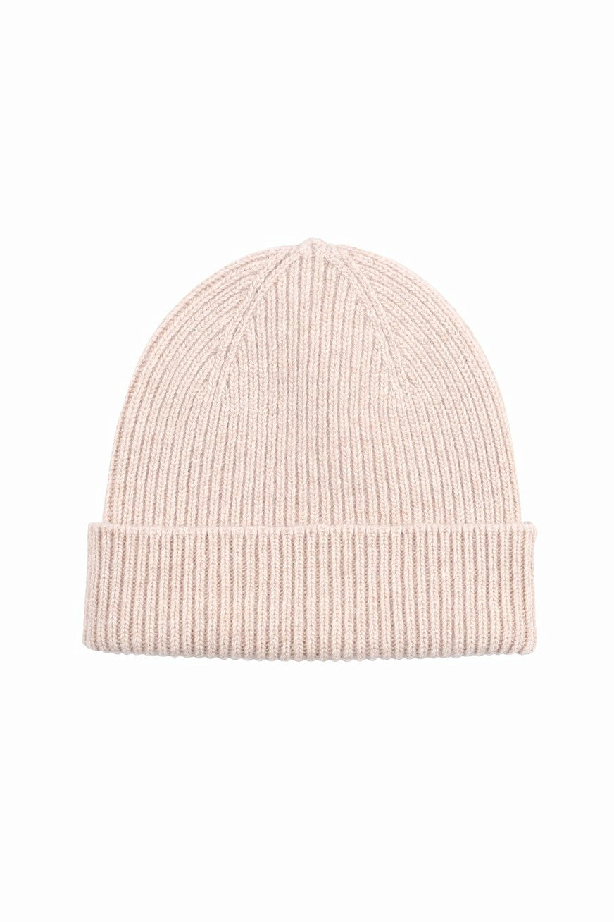 Coloful Standard merino wool beanie ivory white