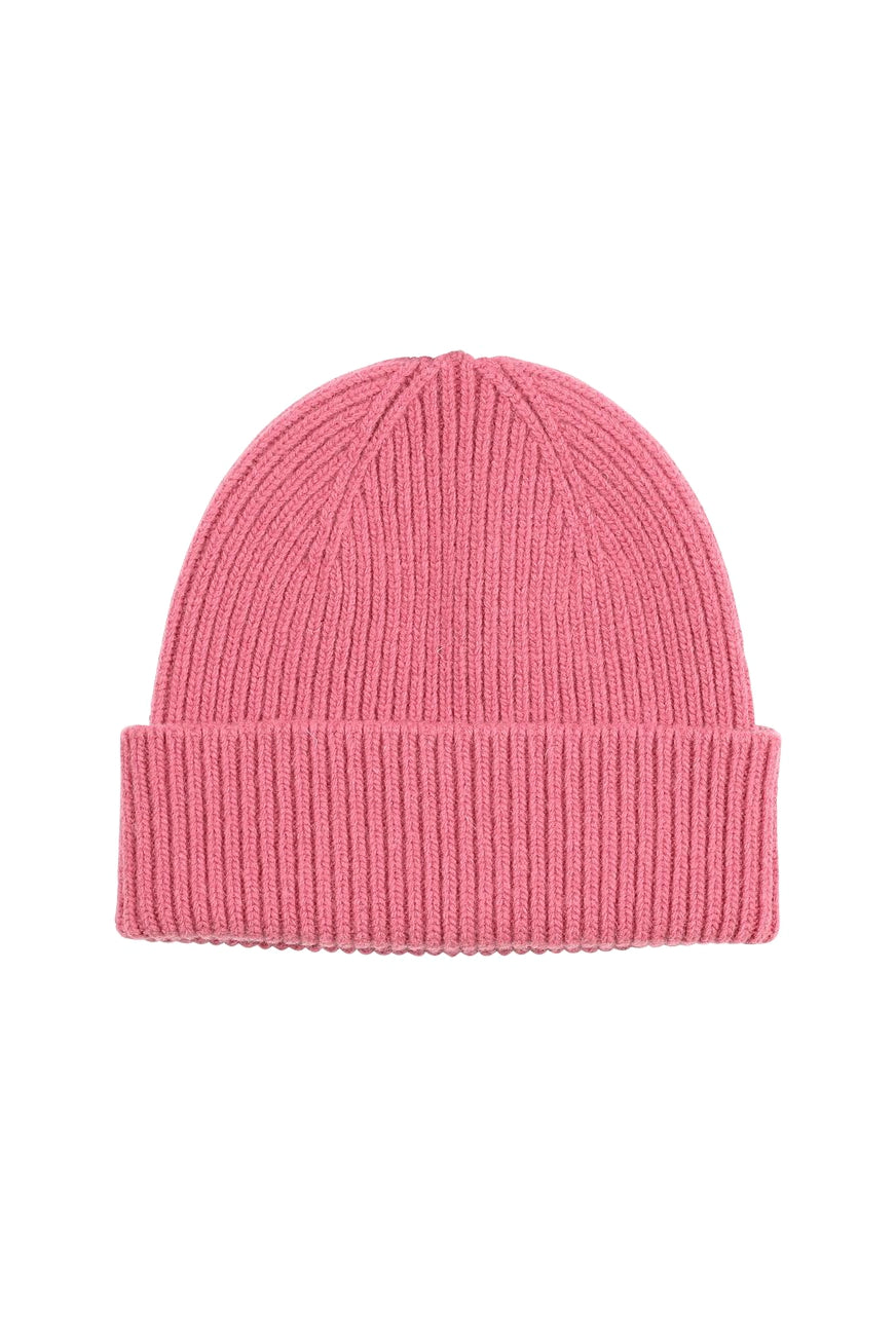 Colorful Standard beanie rasberry pink