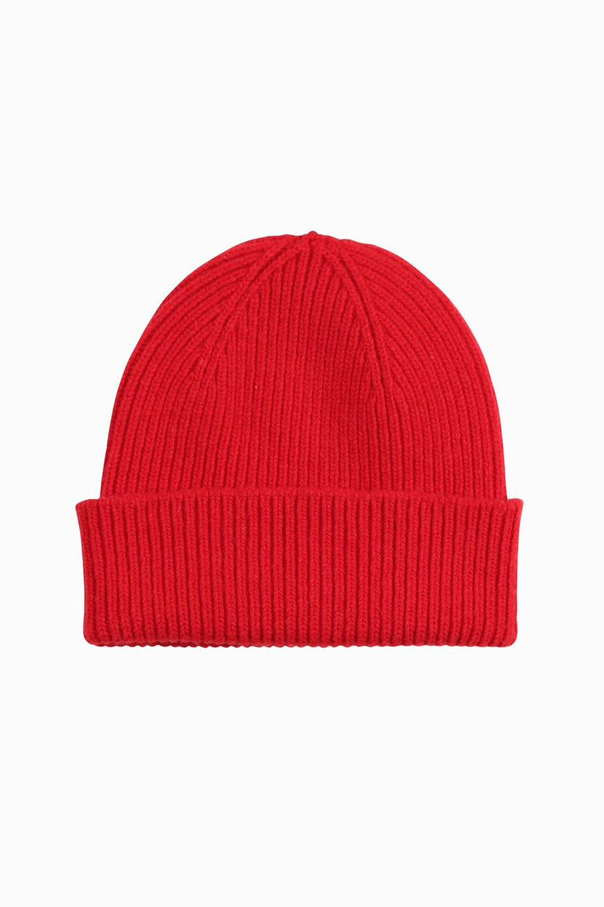 Punainen pipo Colorful Standard beanie