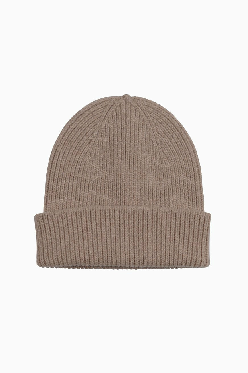 Colorful Standard merino wool hat - warm taupe