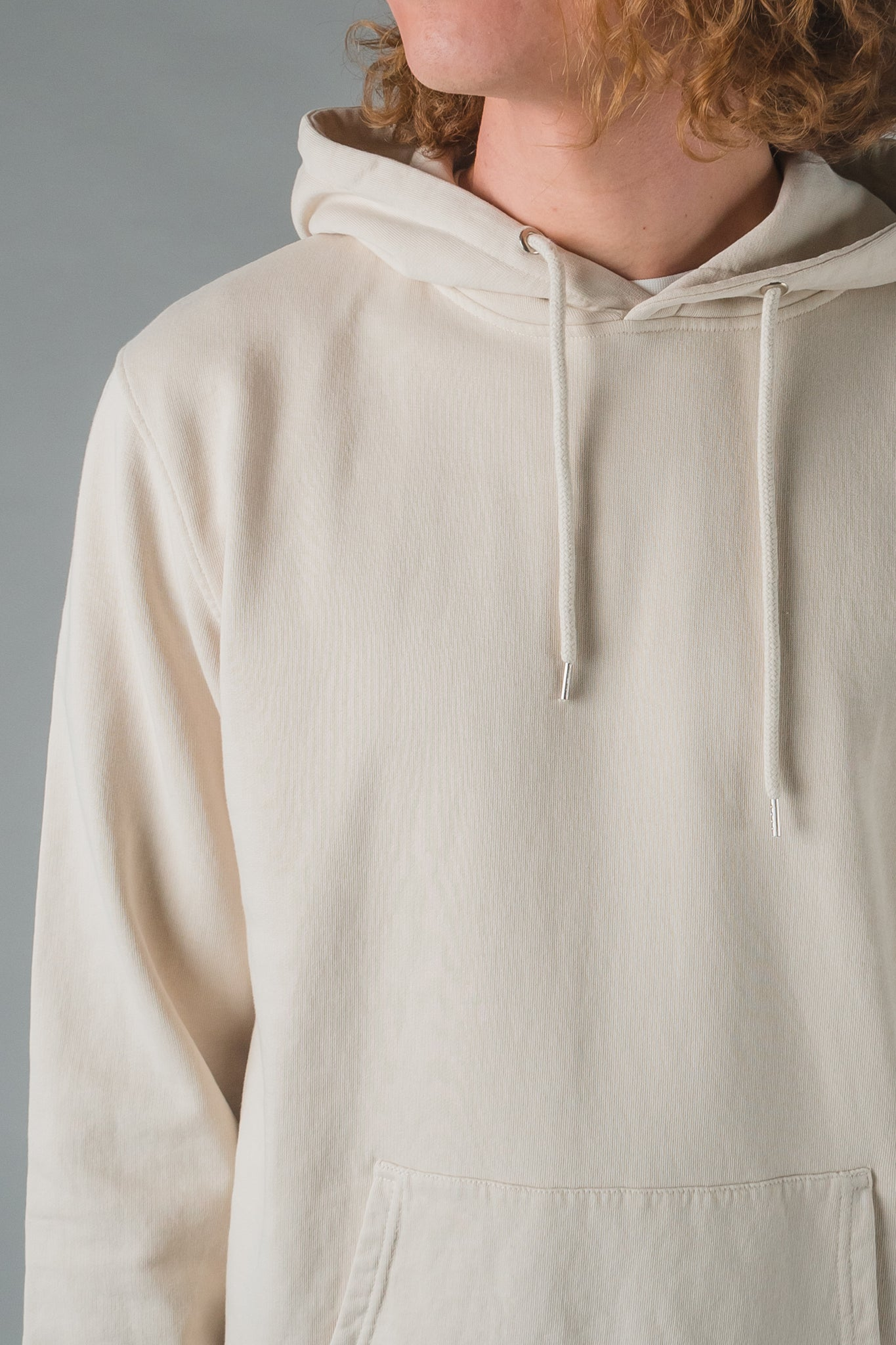 Colorful Standard Classic Organic Hood - Ivory white