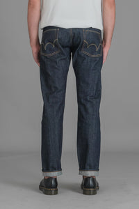 Edwin ED-55 Raw Red Listed Selvage Denim miesten farkut | INCH webshop