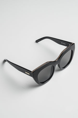 Le Specs Air Heart naisten aurinkolasit - Black Gold