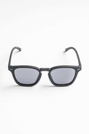 Le Specs No Biggie polarisoidut aurinkolasit - black rubber