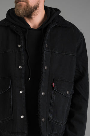 "Levi's Patch Pocket Sherpa miesten Trucker I INCH"" Tampere"