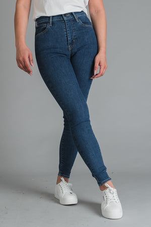 Levi's Mile High Super Skinny naisten farkut - Tempo so stoned