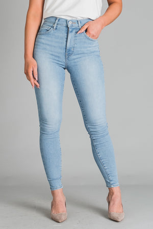 "Levi's Mile High Super Skinny farkut - Between Space I INCH"" farkkukauppa"