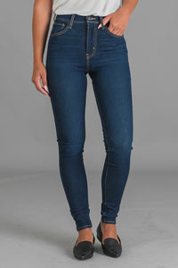 Levi's Mile High Super Skinny farkut - on the rise