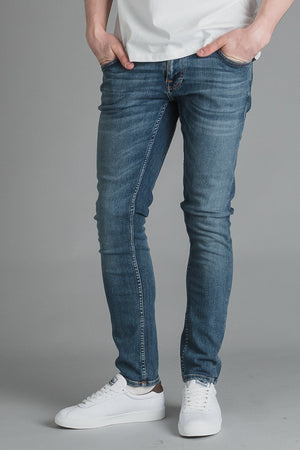 Nudie Tight Terry Steel Indigo INCH Farkkukauppa