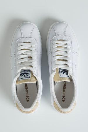 Superga 2843 Comflealamew naisten tennarit - white gold