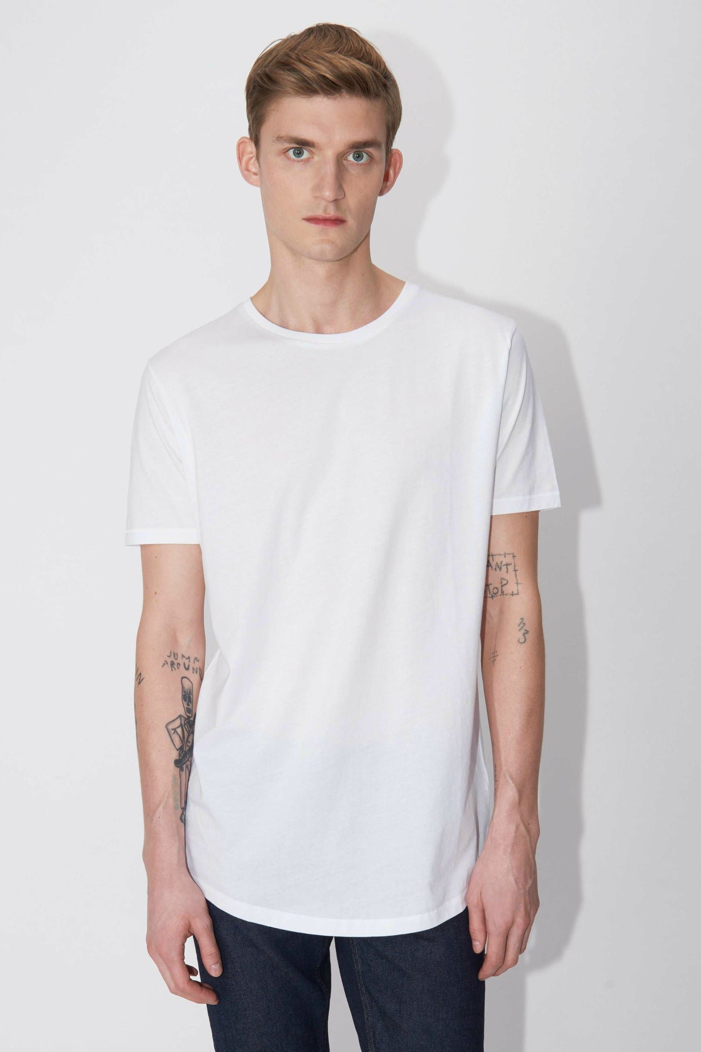 Tiger of Sweden Corey Sol t-shirt white | INCH webshop