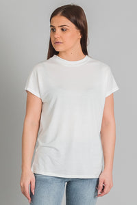 Won Hundred Proof tencel t-paita - white