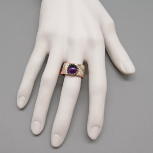 gift ideas for women. purple amethyst jewelry
