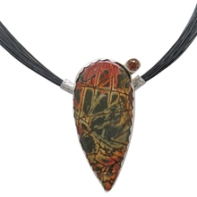Load image into Gallery viewer, red creek jasper handmade pendant