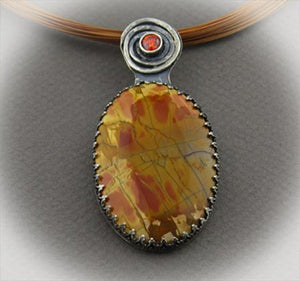 pendant handmade in Arizona