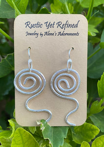 sacred spiral collection earrings
