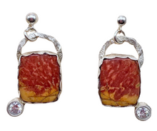 Load image into Gallery viewer, red creek jasper with CZ gems