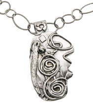 Load image into Gallery viewer, fused sterling pendant