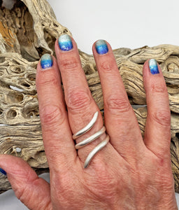 Sterling Silver Ring. Sacred Spiral Collection-assorted sizes