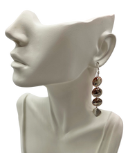 "Load image into Gallery viewer, AleneAnn Signature Earrings. 2 1/2"" long"