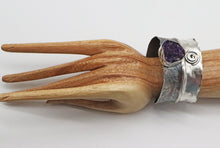 Load image into Gallery viewer, cuff in sterling shown on wrist
