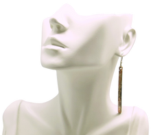 Load image into Gallery viewer, handmade in Arizona earrings in copper and sterling