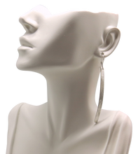 Load image into Gallery viewer, sterling earrings shown on bust
