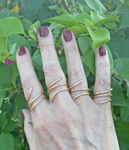 Load image into Gallery viewer, Gold  Fill Ring. Sacred Spiral Collection. Assorted Sizes