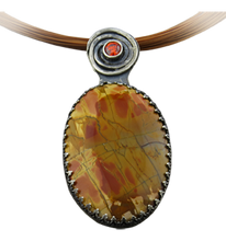 Load image into Gallery viewer, red creek jasper artisan pendant