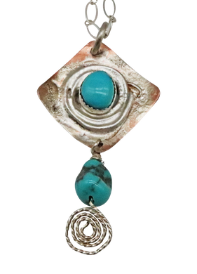 NATURAL TURQUOISE PENDANT