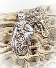 Load image into Gallery viewer, sacred spiral one of a kind pendant