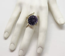 Load image into Gallery viewer, February birthstone amethyst ring