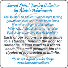 Load image into Gallery viewer, Sacred Spiral Collection Jewelry