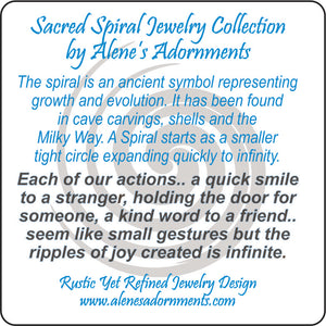 Sacred Spiral Collection Jewelry