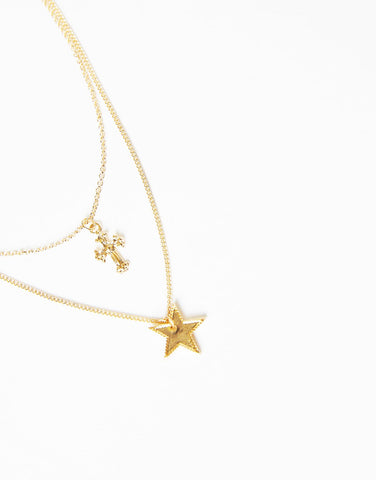 Across The Stars Necklace And Earrings Set